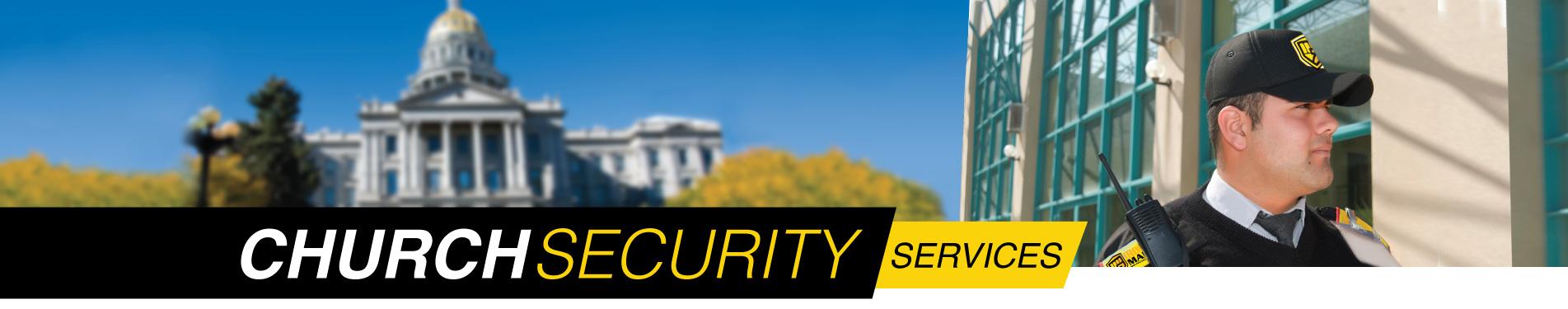 Houston area religious facilities security services