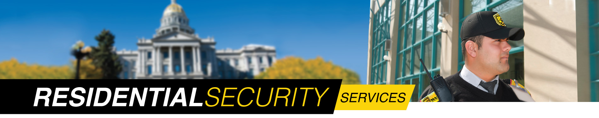 Houston area residential security services
