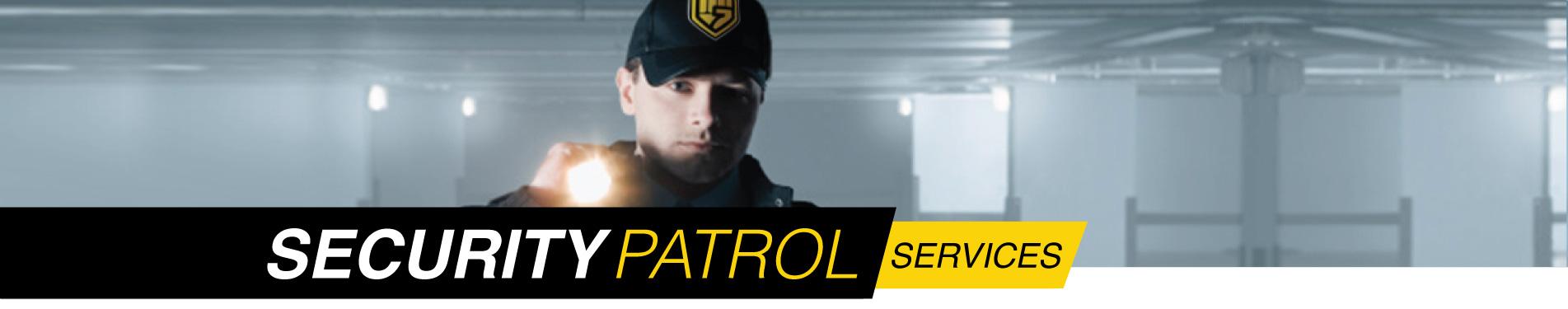 Houston area security patrol services